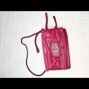 Guess shoulder bag folding with zipper and logo